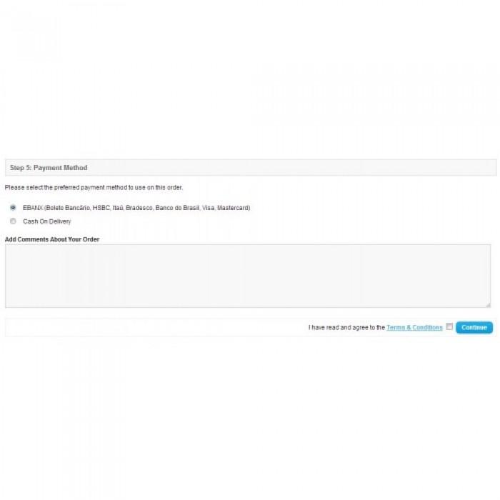 EBANX for OpenCart (Ebanx,ebanx)