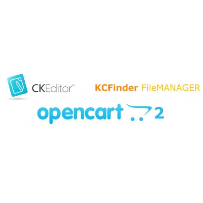 CKEditor + KCFinder for Opencart 2 x
